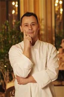 Benoist Rambaud, chef de cuisine de l'hôtel Prince de Galles