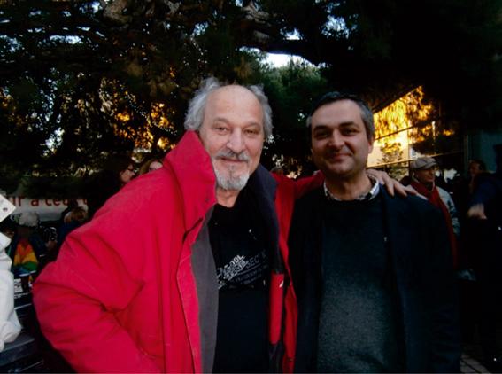 Richard Martin, Dr du Théâtre Toursky et Francesco Neri, Dr de l'Institut Cuturel Italien de Marseille