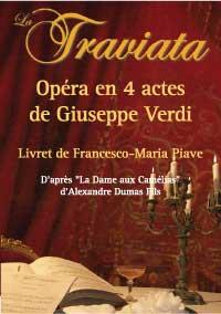 vendredi 3 juillet 2009 à 21h30, Opéra La Traviata, de Verdi à  Montélimar, 90 artistes et musiciens sur scène