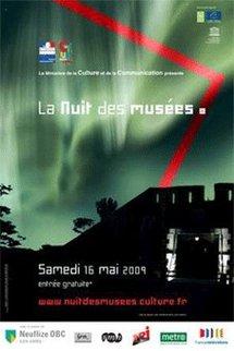 16 mai 2009, La Nuit des musées au musée Paul Dini à Villefranche sur Rhône de 19h – 23h