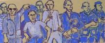 4 au 13 juin 2009, exposition Alain Boggero, Les 6000 des chantiers au Corbusier, boulevard Michelet à Marseille