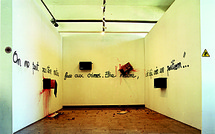 18 au 23 mai 09, exposition Cédric Ponti, galerie du Tableau, Marseille
