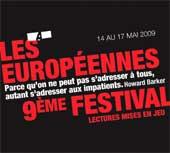14 au 17 mai, 9e festival Les Européennes au théâtre Les Ateliers à Lyon