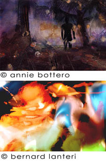 14 mai au 27 juin, exposition Annie Bottero et Bernard Lanteri à la galerie Vrais Rêves à Lyon