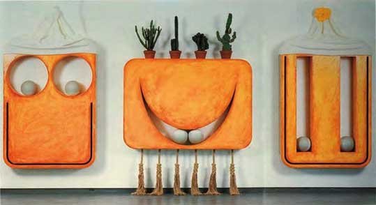Jiri Georg Dokoupil, The Three Right Tones, 1984, courtoisie : Galerie Bruno Bischofberger, Zürich