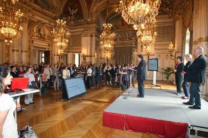 Lancement de Rhône en scène à l'Hôtel du Département du Rhône © DR