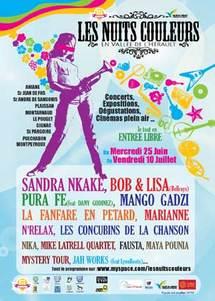 25 juin au 10 juillet, 4e édition festival les Nuits couleurs en vallée de l'Hérault