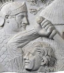 Relief dit Relief du Dace - Photo : 2006 musée du Louvre et American Federation of Arts / Anne Chauvet