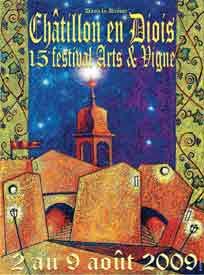 2 au 9 août, 15e festival Arts et Vigne, Châtillon en Diois, Drôme