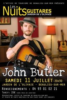 11 juillet 09, John Butler aux Nuits Guitares 2009 de Beaulieu sur Mer