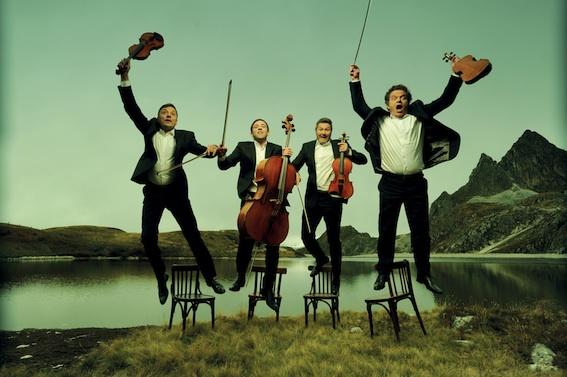 Quatuor Debussy le 30 août © Bernard Benant