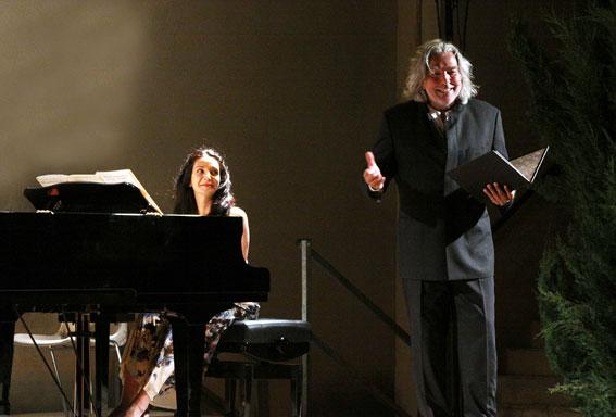 Alain Carré, le 20 août à Le Puy Ste Réparade dans le spectale Don Quichotte © DR