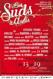 13 au 19 juillet, Festival Les Suds à Arles,