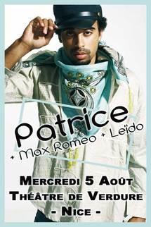 5 août, Patrice en concert au Théâtre de Verdure de Nice