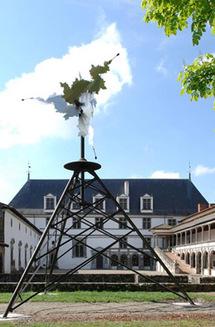 Eté 2009, Locus Oculi par Bernhard Rudiger au château de la Bâtie d'Urfé (Loire)