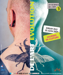 25 juin, Journée de clôture de la 3ème édition de La science de l'art au Centre culturel la Bouveche à Orsay