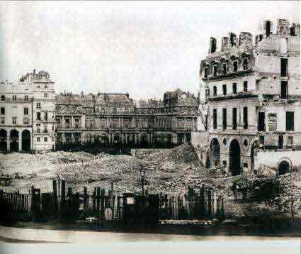 La place du Carrousel - 1865 © Charles Marville