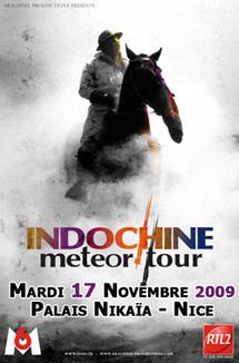 17 Novembre 2009, Indochine en concert au Palais Nikaïa