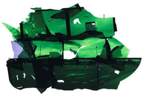 """Tom Drahos, SÉRIE """"PERIPHERY"""" 70 x 100 cm"""
