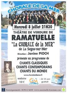 8 juillet, Escale musicale à Ramatuelle / concert choral