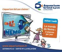 Jusqu'au 31 août, L'Aquarium du Grand Lyon fait son cinema