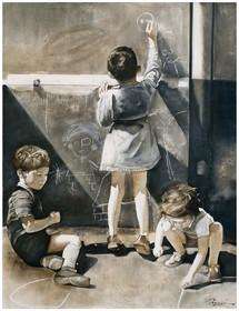 11 septembre au 10 octobre, Exposition de peinture de Joël Rougié et d'Hélène Roman à Galerie Célia B. Guedj de Lyon