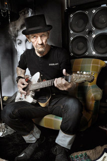 16 octobre, Calvin Russell - Concert blues-rock à 20h30 au Théâtre de Vénissieux
