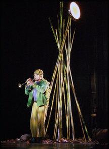 9 janvier 2010, Parole d'oiseau ! - Odyssée Ensemble & Cie au Théâtre de Vénissieux