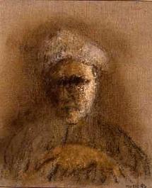 Autoportrait, galerie Claude Bernard, Paris, 1996