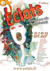 """13 septembre, festival de la voix """"Eclats"""" à Dieulefit (Drôme)"""