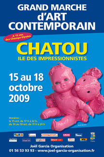 16 au 18 octobre, Grand Marché d'Art Contemporain-Chatou