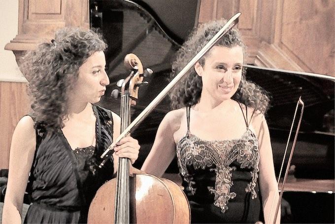 Astrig et Chouchanne Siranossian © Pierre Aimar