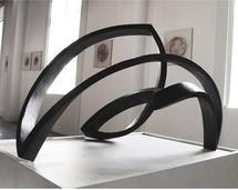 15 octobre au 19 décembre, Francis Guerrier – Stéphane Guiran exposent « Lignes à hautes tensions » à la galerie F.J. à Paris