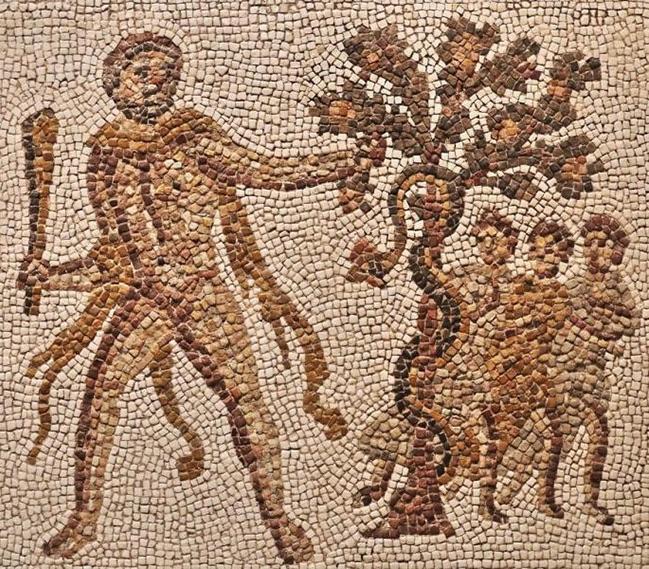 Héraclès au jardin des Hespérides