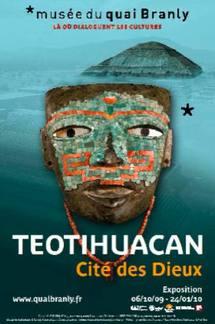 Du 6 octobre au 24 janvier, exposition Teotihuacan - Cité des Dieux à la Galerie Jardin, musée du quai Branly