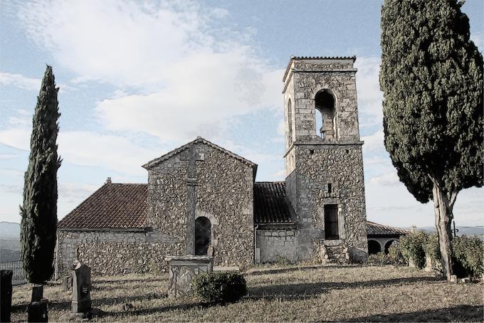Eglise de Sampzon © DR PA