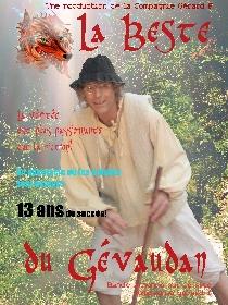 25 novembre, La Bête du Gévaudan sera à La Roche de Glun !