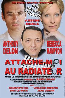 9 décembre, 'Attache-moi au radiateur' avec Anthony Delon et Rebecca Hampton au Palais de la Méditerranée