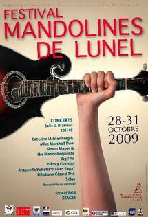 28 au 31 octobre, festival de mandolines de Lunel