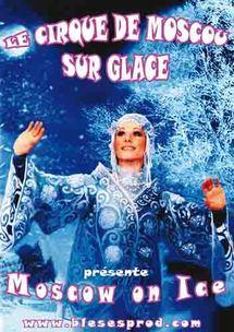 5 et décembre, Le Cirque de Moscou sur glace  à l'Acropolis à Nice