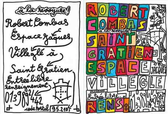 Du 8 octobre au 12 décembre, Robert Combas à l'Espace Jacques Villeglé de Saint Gratien