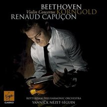Disque : Renaud Capuçon illumine sous un jour nouveau Beethoven et Korngold