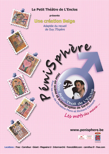 6 novembre au 20 décembre, Spectacle Pénisphère au théâtre de l'Ile Saint-Louis Paul-Rey