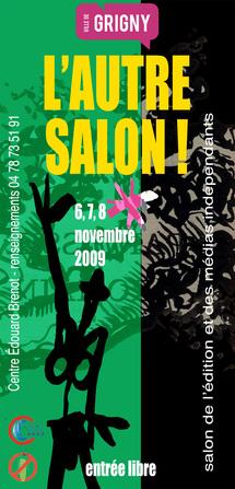 6 au 8 novembre, L'Autre Salon ! Salon des éditeurs et des médias indépendants à Grigny (69)
