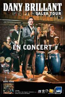 6 mars, Dany Brillant Salsa Tour à l'Acropolis à Nice
