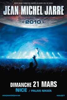 21 mars, Jean-Michel Jarre World Tour au Palais Nikaia à Nice