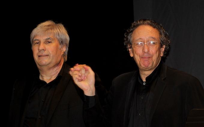 Philippe Bride et Jean-Marc Luisada © PA