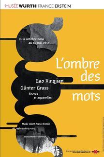 Jusqu'au 16 mai, L'ombre des mots - Gao Xingjian / Günter Grass - Encres et aquarelles au  Musée Würth à Erstein
