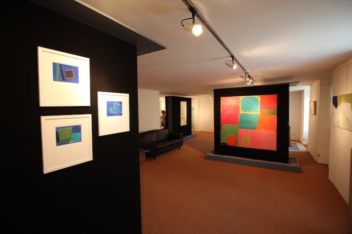Charlotte Culot, toute en couleur, à la galerie Emiliani, Dieulefit jusqu'à fin septembre