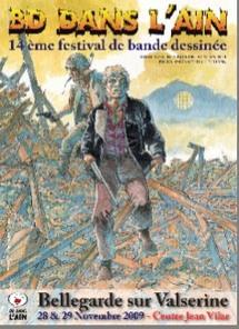28 et 29 novembre, 14ème festival de bande dessinée de Bellegarde sur Valserine (01)
